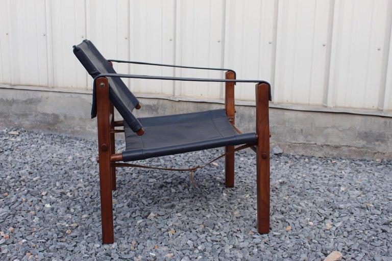 American Gold Medal Safari Chair For Sale