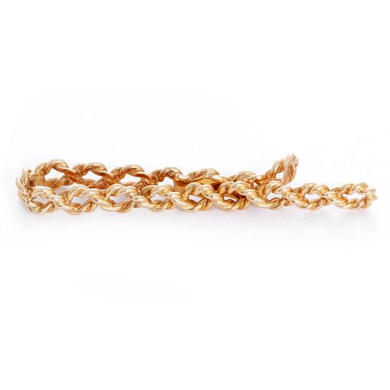 Women's or Men's Gold Money Clip For Sale