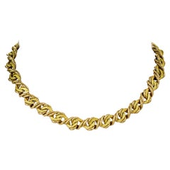 Gold Necklace by Georges L'Enfant for Tiffany & Co.