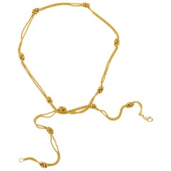 Gold Necklace by Tiffany & Co., Germany