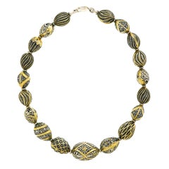 Gold over Sterling Necklace