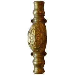 Gold-Plated Antique Door Knob