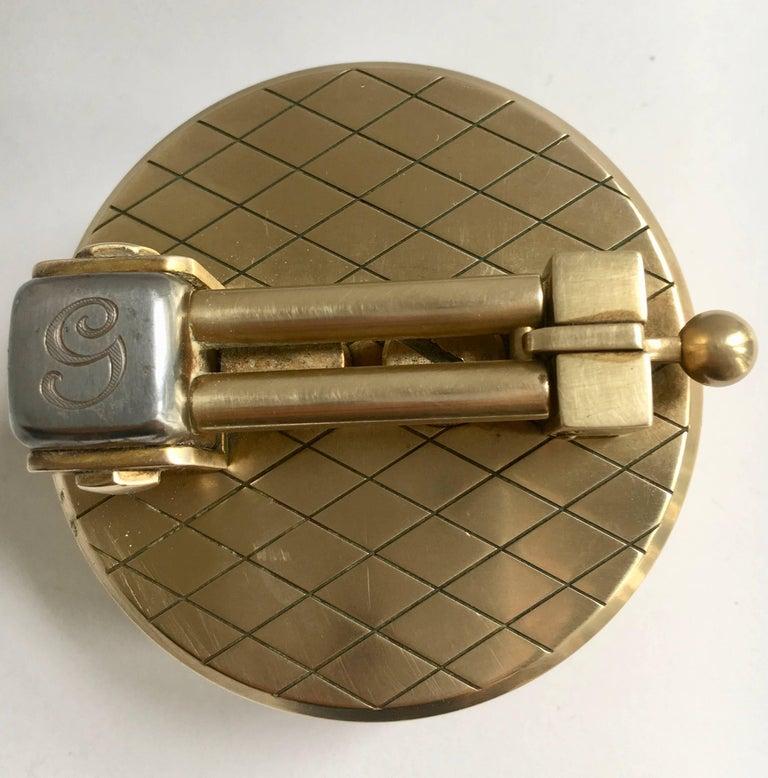 20th Century Gold-Plated Gubelin Lighter