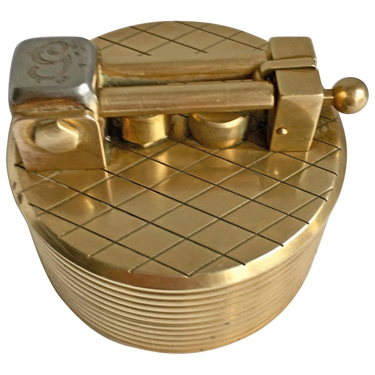 Gold-Plated Gubelin Lighter