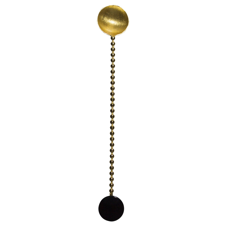 Gold-Plated Mini Spoon by Natalia Criado