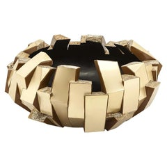 Gold Quartz Bowl