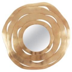 Gold Ribbon Mirror