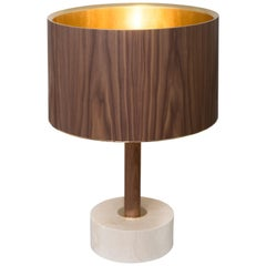 Gold Shade Table Lamp