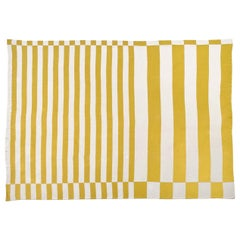 Gold-Silver Stripes Blanket by Roberta Licini