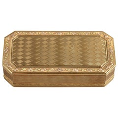 Gold Snuff Box, Late 18th Century