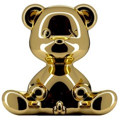 Gold Teddy Boy Lamp with LED, Made in Italy