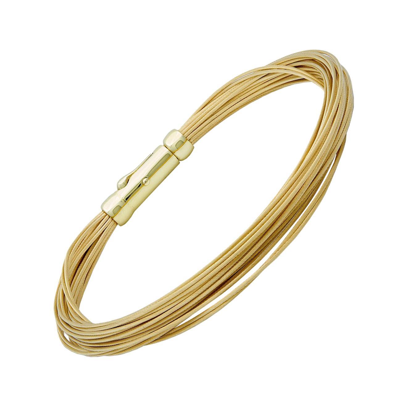Gold Tiffany & Co. 30-Strand Bracelet