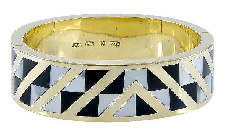 Women's or Men's Gold Tiffany & Co. Bracelet For Sale