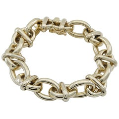 Gold Tiffany & Co. Mariner Link Bracelet