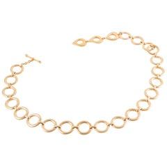 Gold tone Saint Laurent Chain Belt