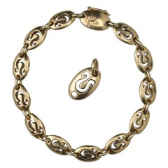 Gold Van Cleef & Arpels Leo Zodiac Bracelet