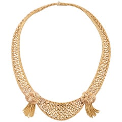 Gold Vintage English Necklace