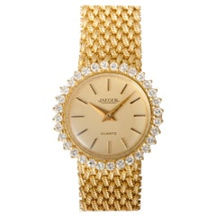 Gold Watch 18 Carat with Diamond