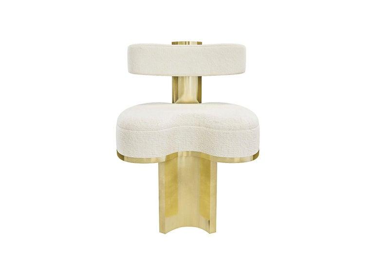 Modern Gold Yoda Chair by Melis Tatlicibasi For Sale