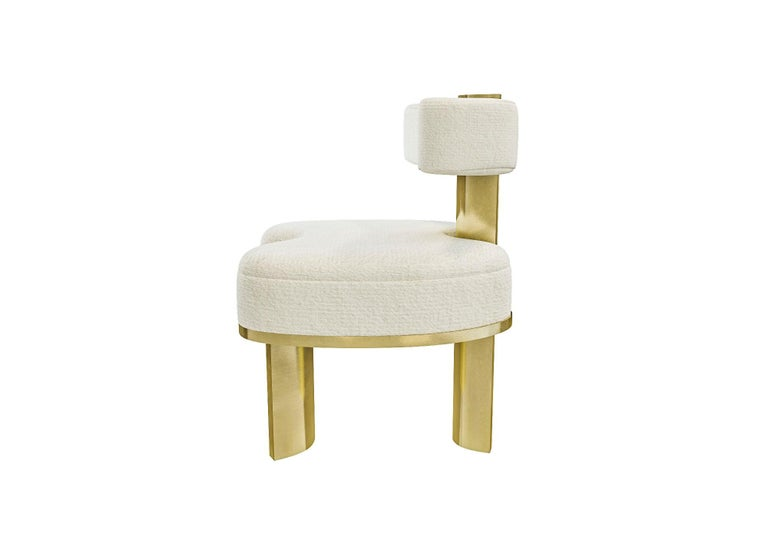 Upholstery Gold Yoda Chair by Melis Tatlicibasi For Sale