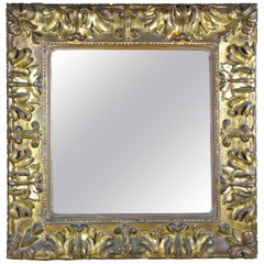 Golden Baroque Wall Mirror, Austria, circa 1700
