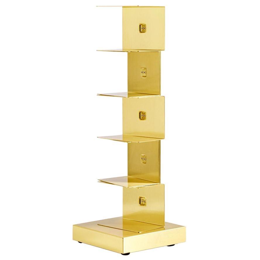 Golden Bookcase