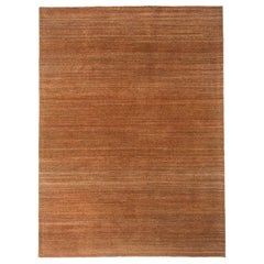 Golden Brown Tweed Area Rug