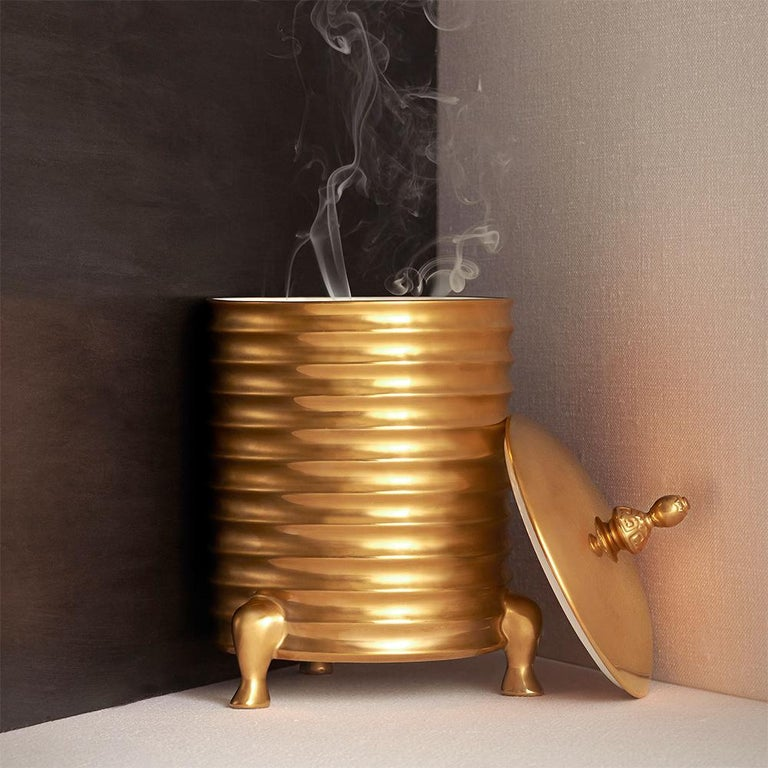 Golden Candle Box For Sale 2