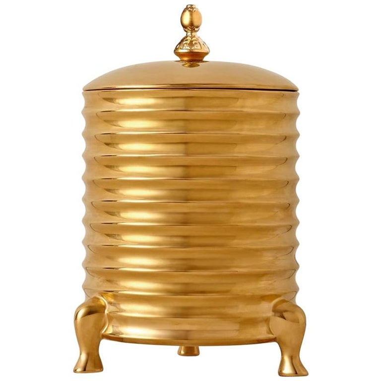 Golden Candle Box For Sale