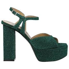 Golden Goode Deluxe Brand Woman Sandals Green EU 36