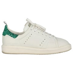 Golden Goose Deluxe Brand Woman Sneakers Green Leather IT 38
