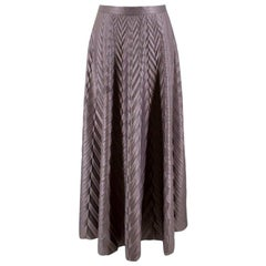 Golden Goose Deluxe embossed-herringbone midi skirt US 10