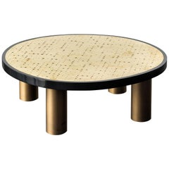 Golden Jade Coffee Table by Chiara Provasi
