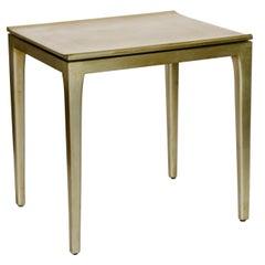 Golden Leaf Light Side Table