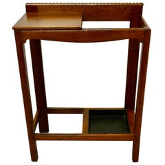 Golden Oak Hall Table Stick Stand
