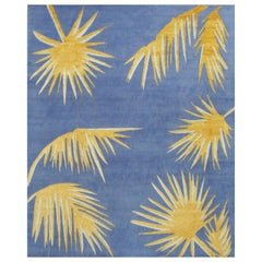 Golden Palms Rug by Ilaria Ferraro