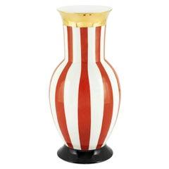 Golden Red Medium Vase