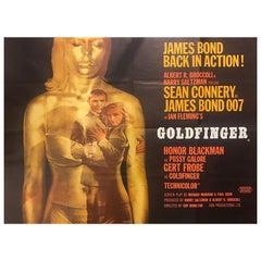 Goldfinger, 1964 Poster