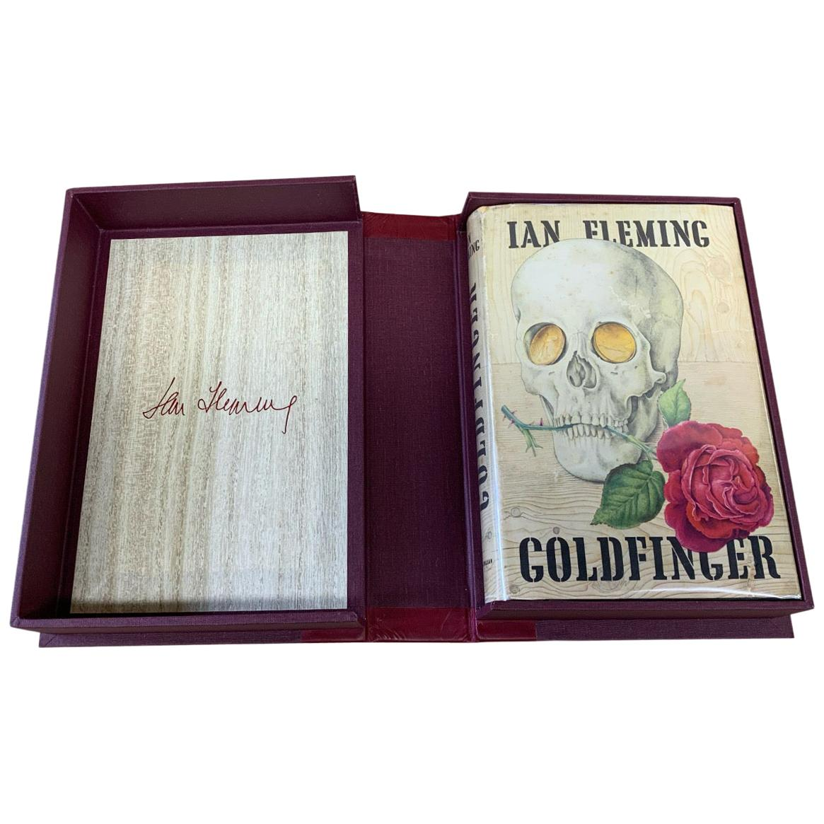 Goldfinger, Signed by Ian Fleming, First American Edition, First Printing, 1959