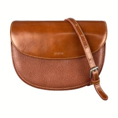 GOLDPFEIL Smooth & Pebbled Leather Crossbody Bag