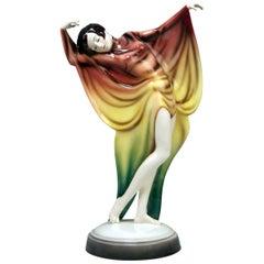 Goldscheider Vienna Lady Dancer Butterfly Costume Model 5900 Lorenzl