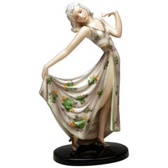 Goldscheider Vienna Lady Dancer Dolly Model 7958 Stephan Dakon Made, circa 1937