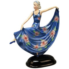 Goldscheider Vienna Lady Dancer Model 8129 Stephan Dakon Made 1938