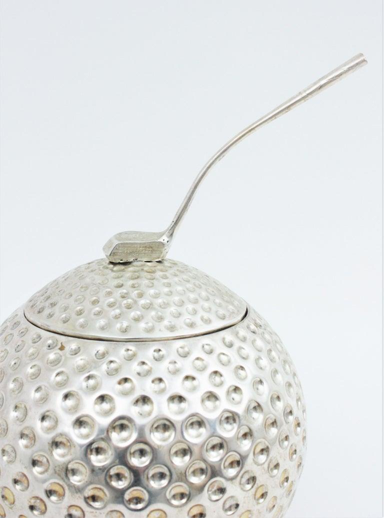 Golf Ball Ice Bucket Wine Cooler by Valenti, Spain, 1960s 2