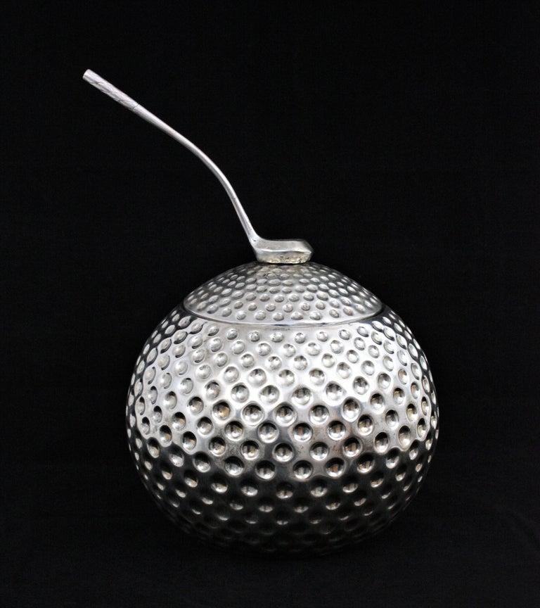 Italian Golf Ball Ice Bucket Wine Cooler by Valenti, Spain, 1960s