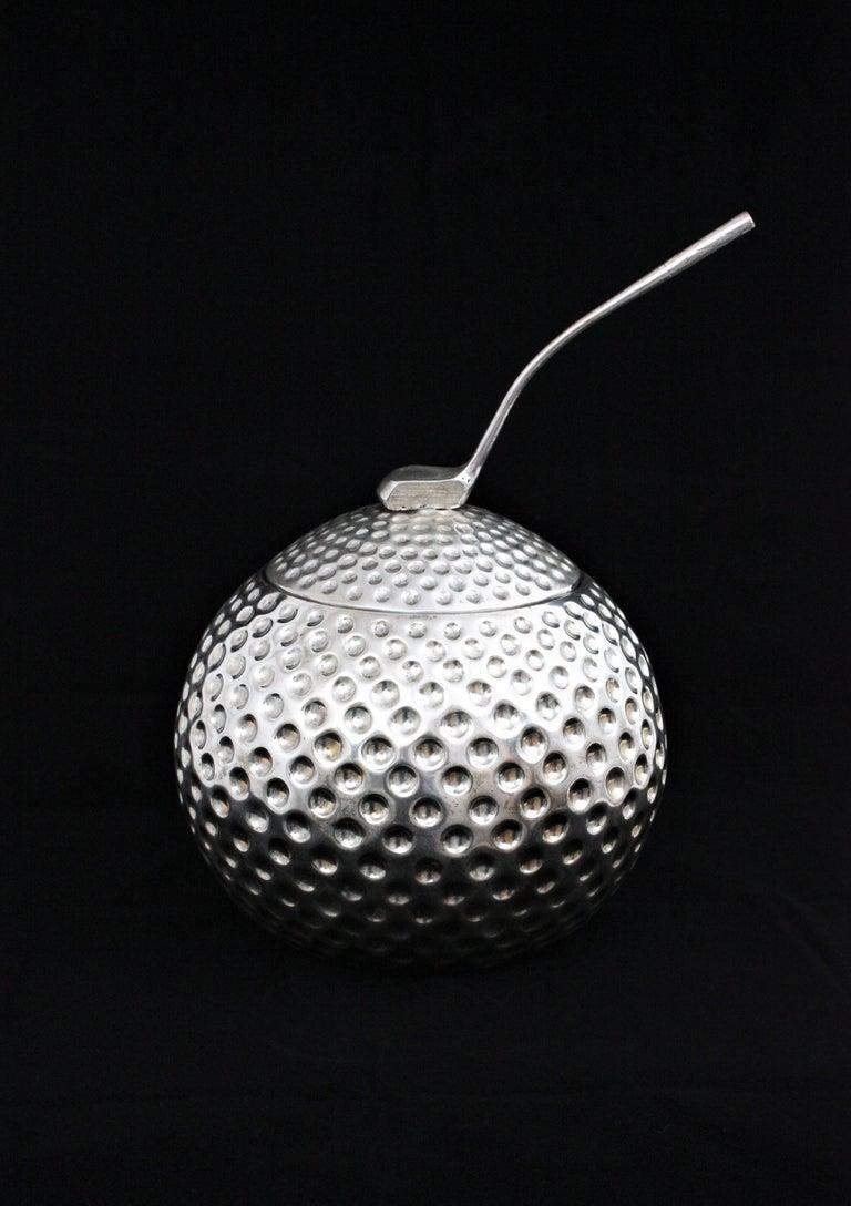 Golf Ball Ice Bucket Wine Cooler by Valenti, Spain, 1960s 1