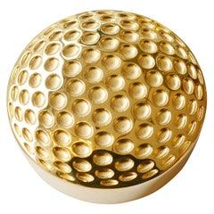 Golf Gold Paperweight