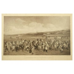 Golf Photogravure of Westward Ho