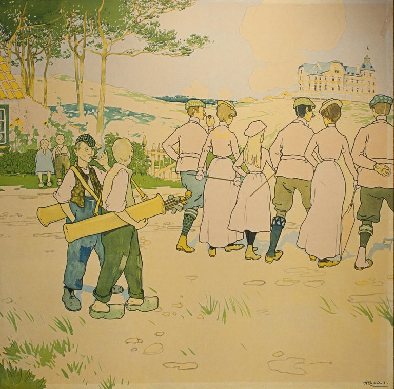 Golf Poster In Good Condition For Sale In Oxfordshire, GB