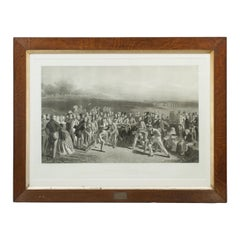 Golf Print, Grand Match by Charles Lees